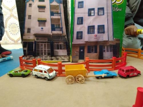 Atelier fabrication maquette bâtiments Al Islah 2&3